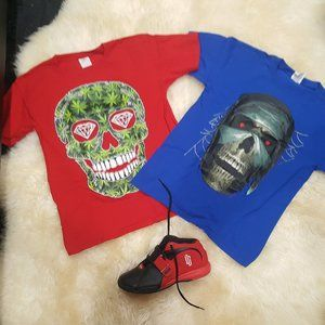 Fruit on The Loom T-shirts Bundle Youth L